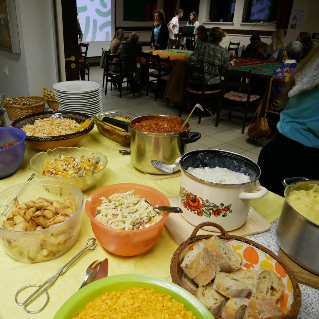 Leckere Speisen aus dem südlichen Afrika